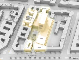 Kudamm Karree Visualisierung Lageplan
