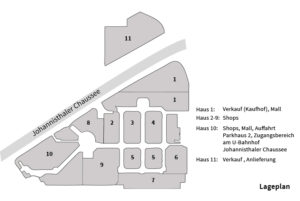 Plan Gropius Passagen